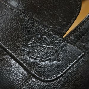 GUCCI Brown Italian Loafers ***Embossed LOGO**